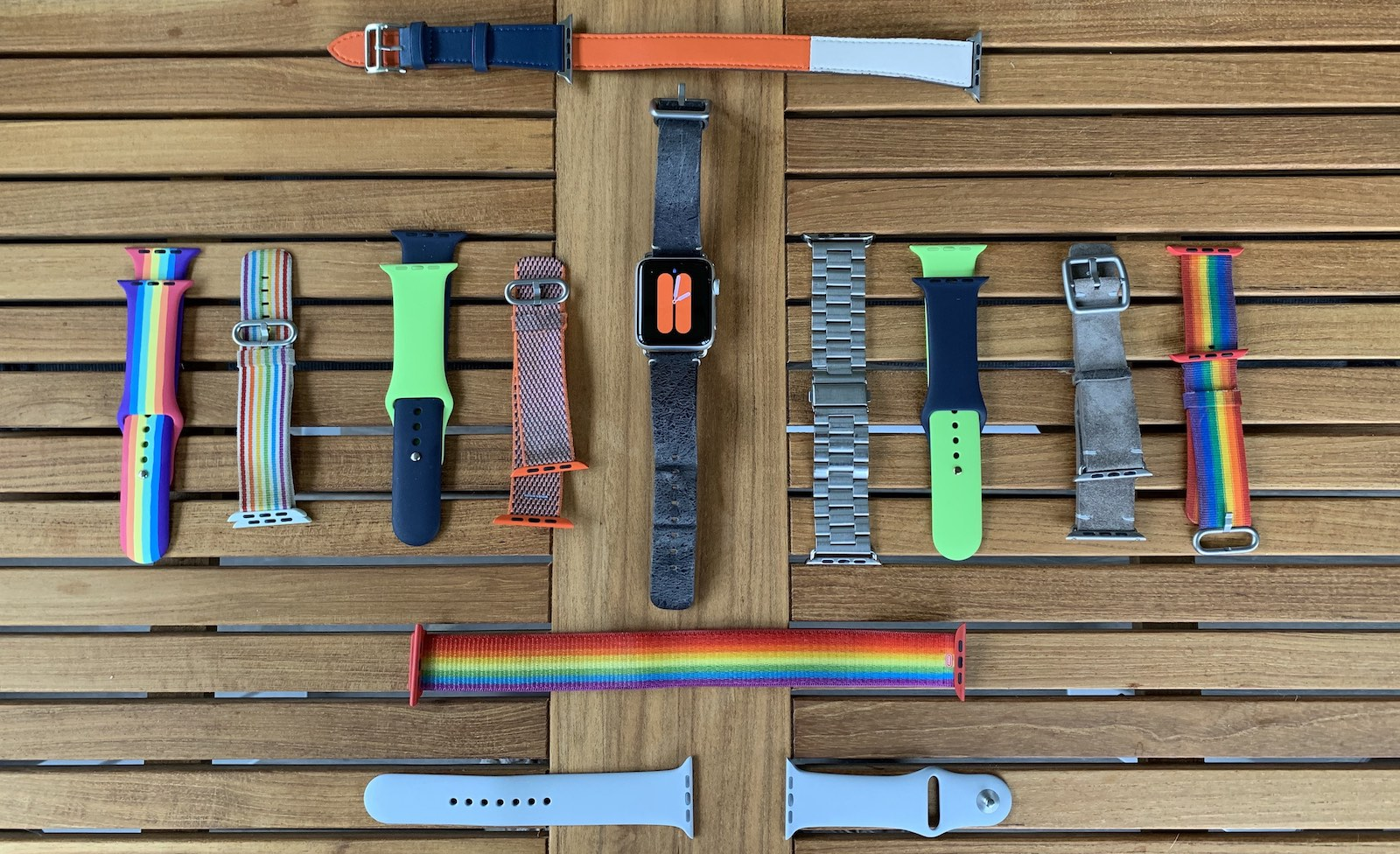 Watch bands, so many watch bands
