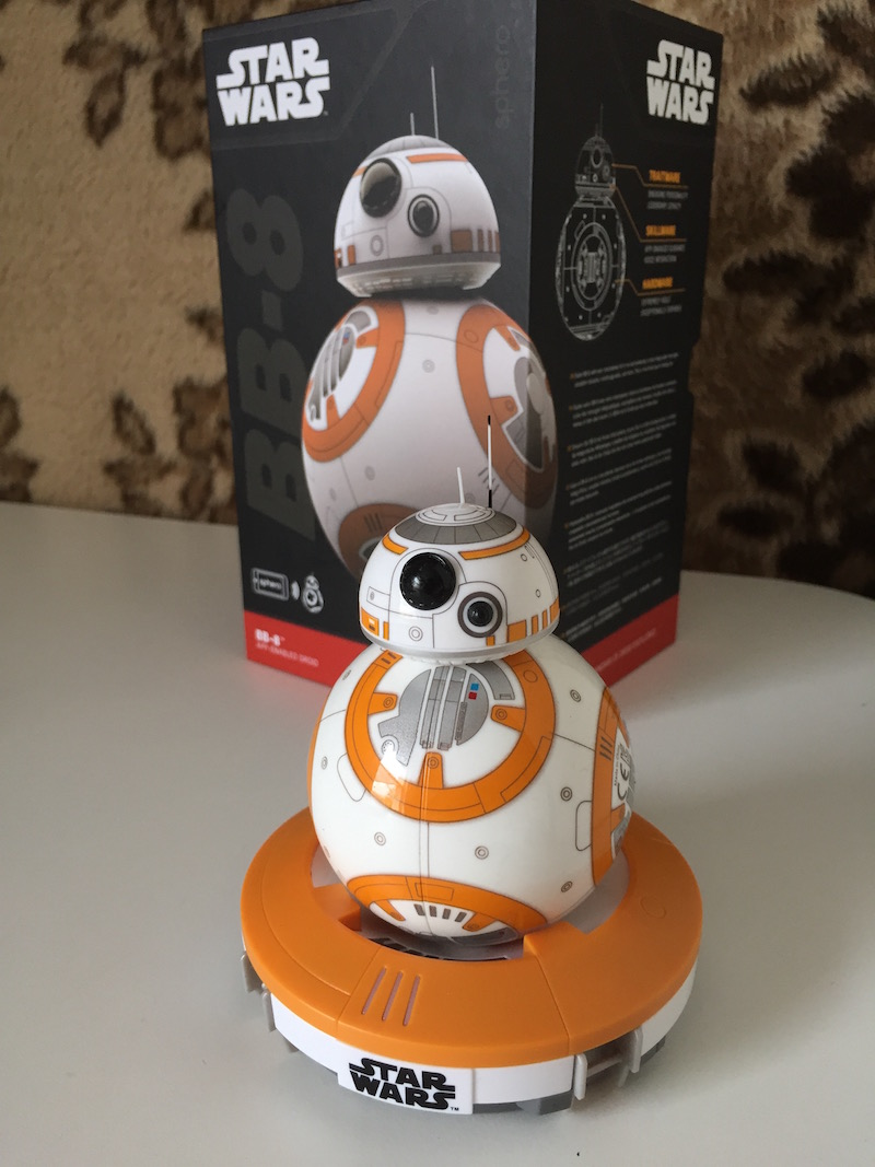 Say hello to BB-8