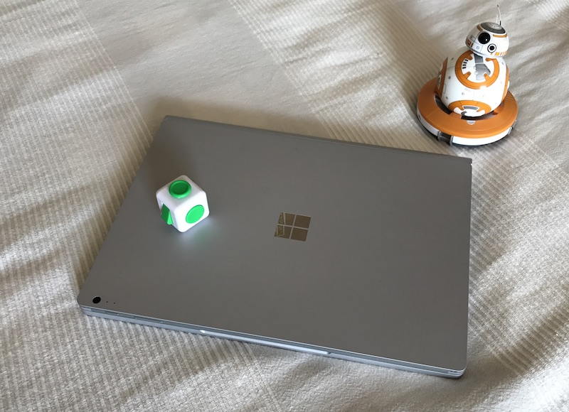 Surface book (also BB-8 and Fidget cube)