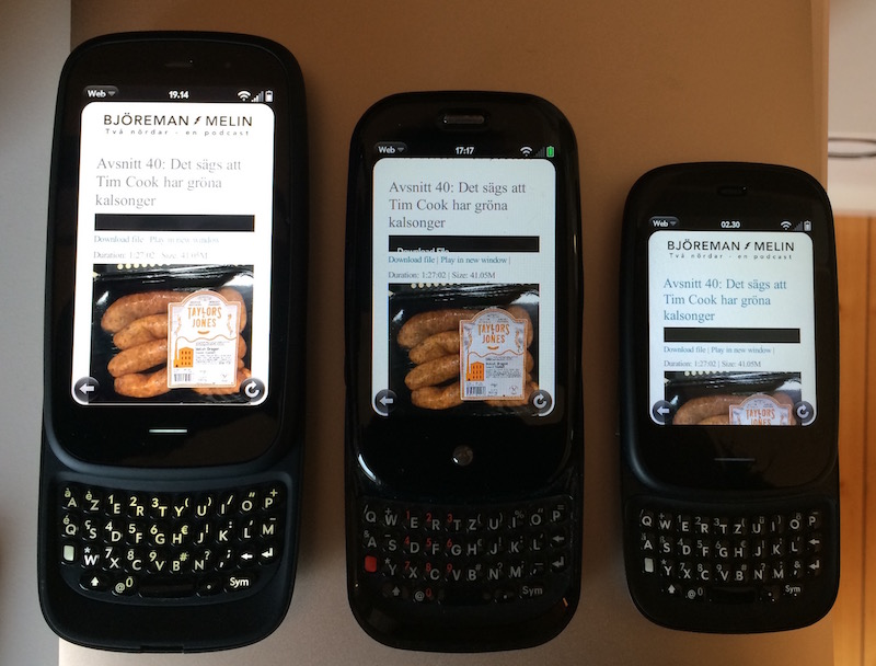 Webos phones